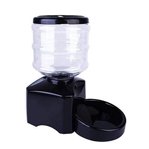 Automáticas alimentador,Pantalla LCD 5.5L del Perrito Digital Triturador Comedero para Perro Gato,Negro