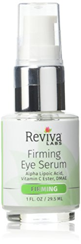 Reviva Labs Firming Eye Serum with Alpha Lipoic Acid, Vitamin C Ester & DMAE, 1 ounce