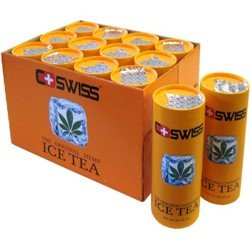 CSwiss - The Original Cannabis Ice Tea THC-frei - 12x0,25l pfandfrei