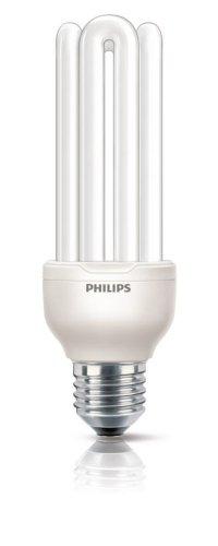 Philips Lighting G10Y23B1 Lampadina a Risparmio Energetico, 23W (Corrispondenti a 100W), Attacco Grande E27, Luce Bianca Calda
