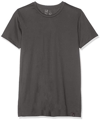 Trigema Herren 637201 T-Shirt Grau (Anthrazit 018) Large (Herstellergröße: L)