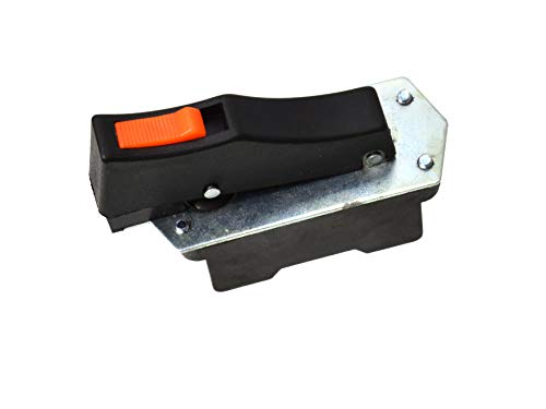 Ersatz Taste Schalter Switch, Ersatzschalter für Winkelschleifer - Model: FA5-10/2W (FA5-10/2D) - 10A 250V/20A 125V - Kompatibel mit 230mm Winkelschleifer