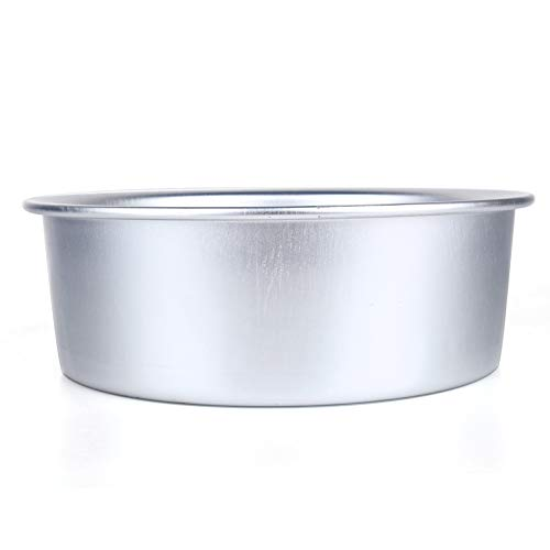 Ruiqas Round Cake Pan, Aluminum Alloy Nonstick Baking Mould Bakeware for Home Cake Shop