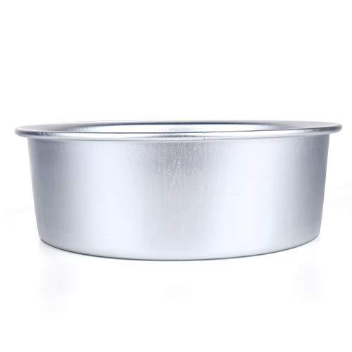 9 pulgadas de aleación de aluminio antiadherente redondo pastel Pan hornear molde Bakeware, aleación de aluminio pastel Pan hornear Pan molde para hornear Utensilios para hornear zm412