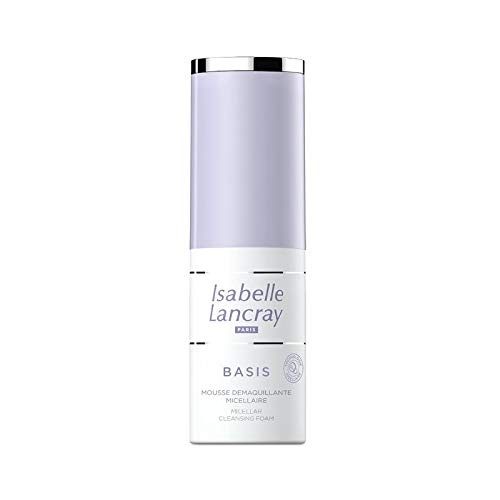 Isabelle Lancray BASIS Mousse Démaquillante Micellaire - milder Reinigungsschaum, Make-up Entferner, (1 x 100 ml)