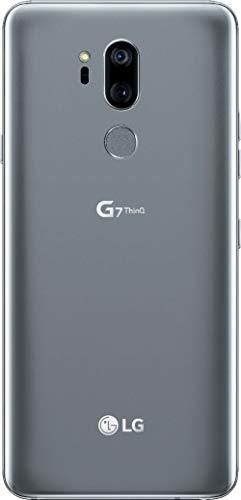 LG - G7 ThinQ for Verizon - 64GB - 6.1in QHD Display - Platinum Gray (Renewed)