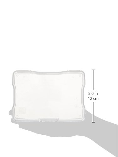 """IRIS 4"""" x 6"""" Photo Storage and Embellishement Craft Case, 10 Pack, Clear (585160) 