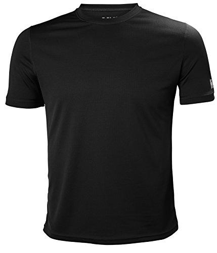 Helly Hansen HH Tech T Camiseta, Hombre, Gris (Gris Oscuro 980), XX-Large (Tamaño del Fabricante:2XL)