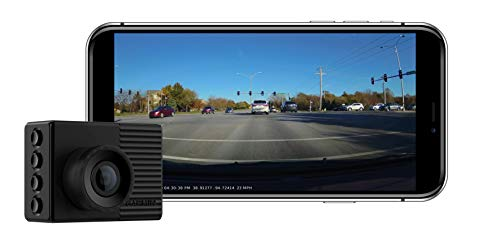 Garmin Dash Cam 56, Wide 140-Degree Field of View In 1440P HD, 2' LCD Screen and Voice Control, Very Compact with Automatic Incident Detection and Recording