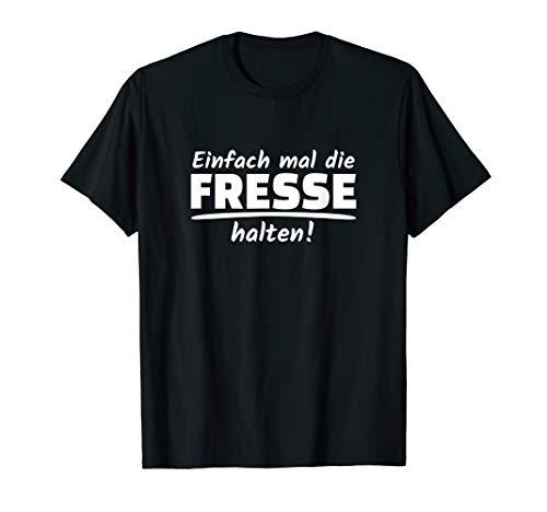 Einfach mal die fresse halten Misanthrop T-Shirt