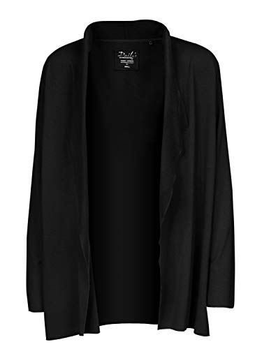 DAILY`S NOTHING`S BETTER BY S. W. B. Kristy: Damen Oversize Cardigan, Size:XXL, Color:Black
