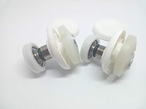 RPB Docce - Ricambio Cuscinetti Box Doccia Kit 2 PEZZI Mod 19 OR Tecno