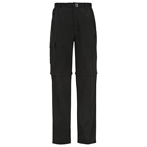 Karrimor Aspen Mens 2 in 1Zip Trousers for Trekking Hiking and Outdoor Activities Black XXXX Large