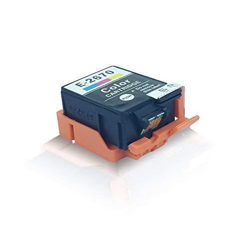 Kompatible Tintenpatrone Farbig für Epson Workforce WF 100 W Workforce WF100 W T267 T 267 C13T26704010 Farbig Color - Eco Office Serie