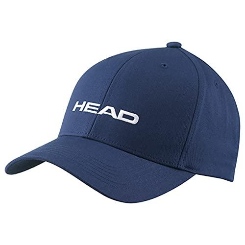 HEAD Promotion Unisex Cap, unisex adulto, Cap, 287299-NV, azul marino