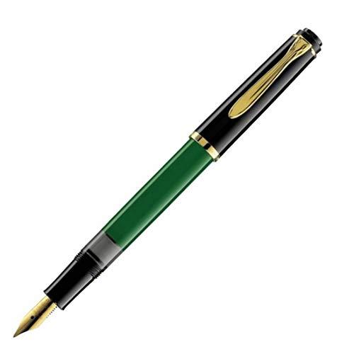 Pelikan - Stilografica Classic M151 Nero-Verde a Stantuffo