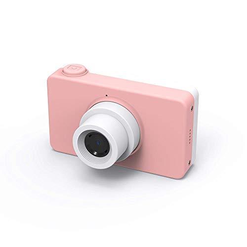 FLHLH Mini cámara Digital compacta, cámara Digital con Zoom de 8 Millones de niños, Zoom 4X, LCD de 2 Pulgadas, Enfoque automático, Polvo, PrincipiantesAncianos Niños Niñas