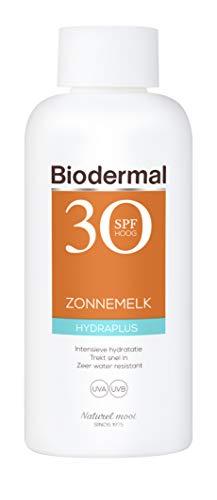 Biodermal Zonnebrand - Hydraplus Zonnemelk SPF 30 - Directe bescherming en intensieve, langdurige hydratatie tot diep in de huid - 200 ml