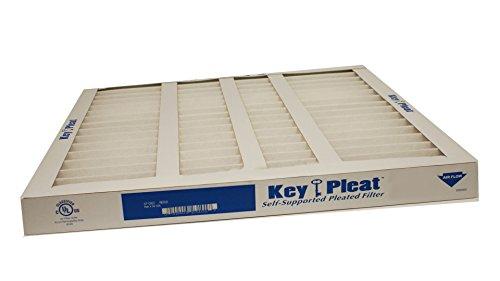 sur-seal kp-5251004770X 1Purolator clave Pleat superficie extendida plisado filtro de aire, mecánico Merv 8, 10'W x 20' H x 1'D