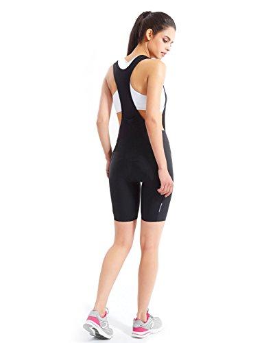 Baleaf Women's 3D Padded Bike Bicycle Cycling Bib Shorts Back Pocket