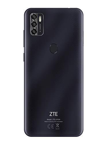 ZTE Smartphone Blade A7s 2020 (15.51 cm (6,5 Zoll) HD+ Display, 4G LTE, 3GB RAM und 64GB interner Speicher, 16 MP Hauptkamera und 8 MP Frontkamera, Dual-SIM, Android Q) star black
