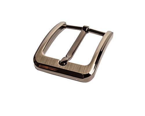 My Belt - Gürtelschnalle 40mm Gunmetal, Schnalle für Gürtel, DIY Schnalle, Dornschließe