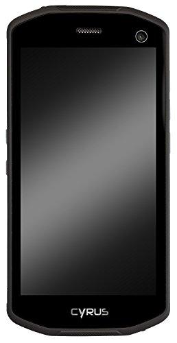 Cyrus CS28 HIPSTER Outdoor Smartphone, 4000 mAH Akku, Android 7.0 Nougat, 5 Zoll, 32 GB, Dual SIM, 13 MP Kamera, stoßfest, staubdicht, wasserdicht, schwarz