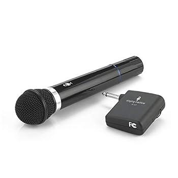 Singing Machine SMM-107 Karaoke Wireless Microphone  Black