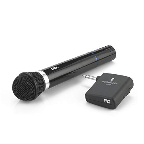 Singing Machine SMM-107 Karaoke Wireless Microphone (Black)