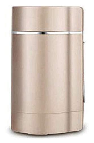 XIAOGING Máquina de leche de soja Licuadora Mini automático de la leche de soja de soja fabricante de leche de grano portátil Frijoles Grinder Acero inoxidable Exprimidor Máquina Baby Food Blender-Whi