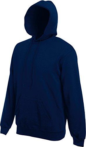 Fruit Of The Loom Sweat-shirt à capuche Bleu marine