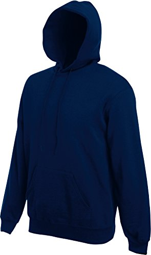 Fruit of the Loom Hooded Sweat Navy - XL