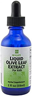 Seagate Products Liquid Olive Leaf Extract for Kids 2 Ounce