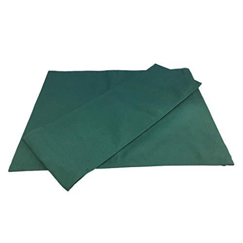 Fenteer Silla de Director con Respalda Silla Asiento de Lona Plegable Taburete Accesorios - Verde