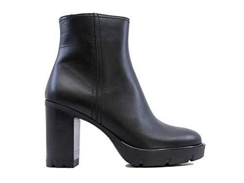 Janet Sport 44825 Amanda - Botas de piel para mujer, color negro...