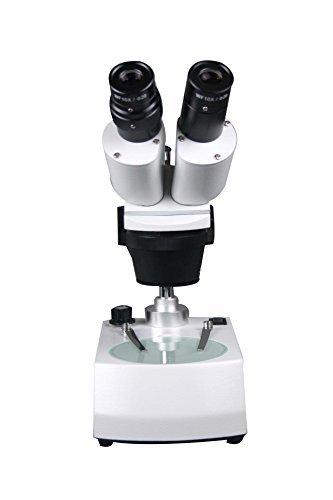 Radical 10x -20x -30x -60x Binocular estéreo pelo moneda sello electrónico PCB insectos Worm microscopio w parte superior parte inferior palo Tipo Soporte Luz ajustable en altura