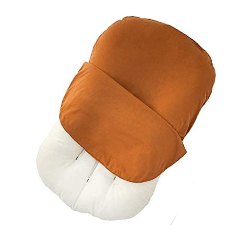 Jingmei Nido per Neonato - Facile da trasportare Riduttore Lettino Neonato - Ultra Morbido Adatto per Far riposare i Bambini sulla Pancia BesBet