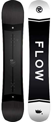 Flow 2020 Gap (Wide) Unisex All Mountain Freestyle Snowboard (156 Wide)