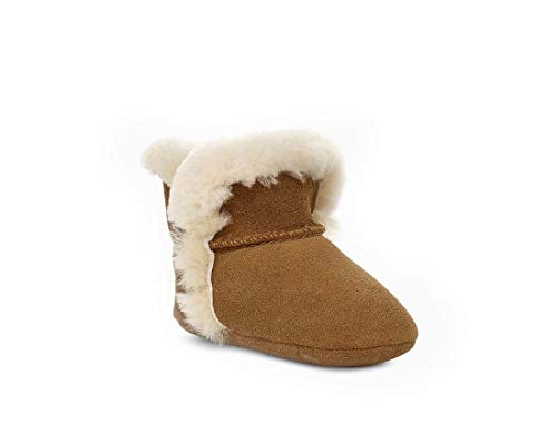 UGG Baby's Unisex Lassen Boot, Chestnut, 2 (UK)