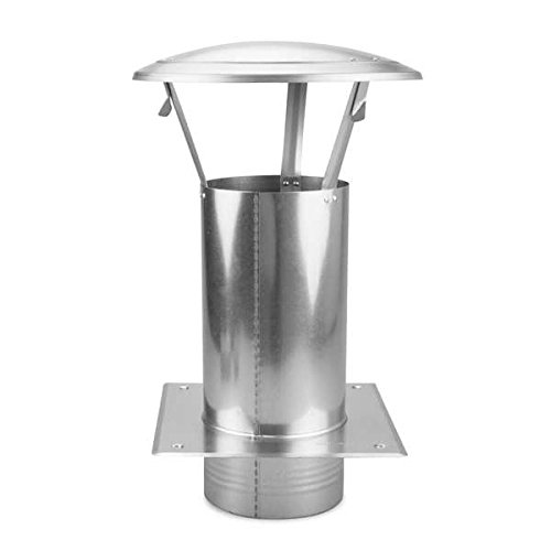 Ø 150 mm Schornsteinverlängerung Stahl verzinkt