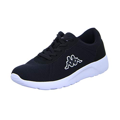 Kappa Herren Tunes Sneaker, 1111 Black, 43 EU