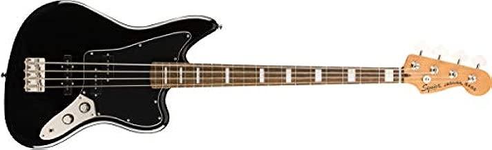 Squier by Fender Classic Vibe Jaguar Bass - Laurel - Black