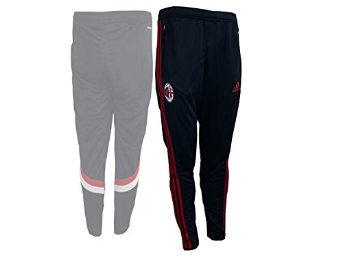 2014-2015 AC Milan Adidas Training Pants (Black)
