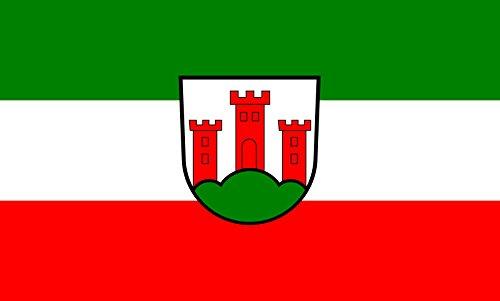 magFlags Tisch-Fahne/Tisch-Flagge: Unterkirnach 15x25cm inkl. Tisch-Ständer