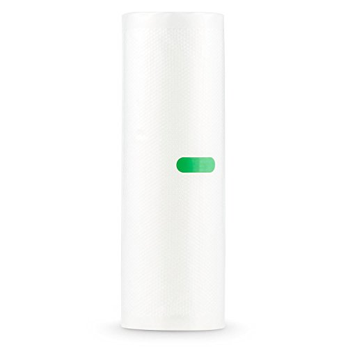 Klarstein Bagpack XL Vakuumbeutel Wabenstruktur Folienschlauch (2x Rollen 600x20 cm, individuell zuschneidbar, Geeignet für die Klarstein Foodlocker Vakuumiergeräte)