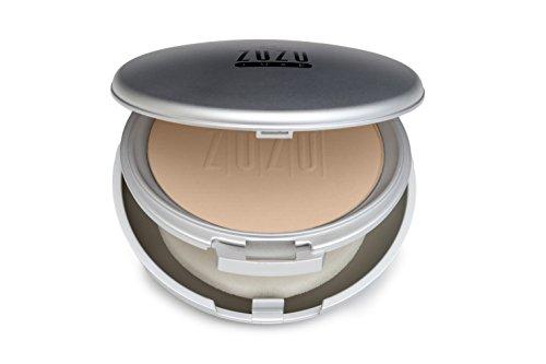 Zuzu Luxe - Dual Powder Foundation,0.32 ozMineral Powder, Pressed mineral powder, medium to full coverage, natural finish. Natural, Paraben Free, Vegan, Gluten-free, Cruelty-free, Non GMO. (D 4)