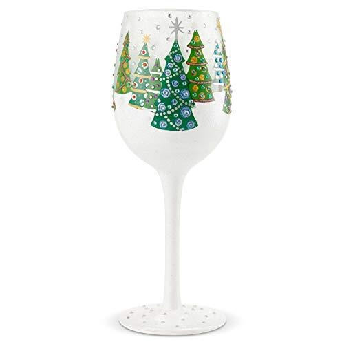 Lolita 6004430 Copa de vino, modelo árbol de navidad