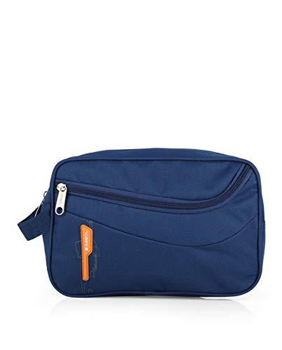 Gabol - Trousse da uomo Week. Beauty case 30 cm, blu (Blu) - 100506 003