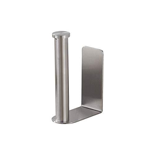 BGL Toilettenpapierhalter, selbstklebend, ohne Bohren, SUS304, Rollenpapierhalter für öffentliche Toiletten und Badezimmer, gebürstetes Nickel-Finish