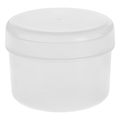 Koziol Rio Vorratsdose mit Deckel, Aufbewahrungsdose, Frischhaltedose, Kunststoff, Cotton White, 8 cm, 3045525